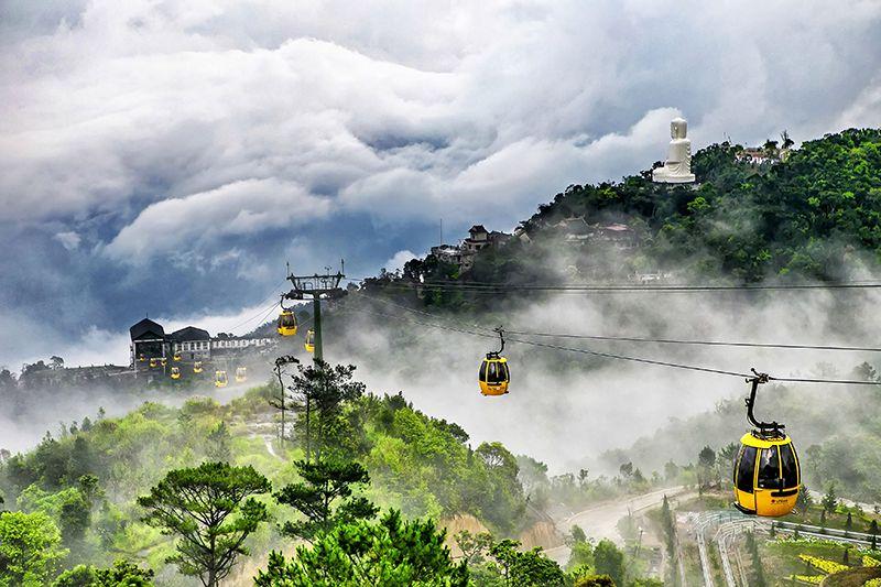 Private Van Transfers Danang To Hoian, Ba Na Hill 1 Day
