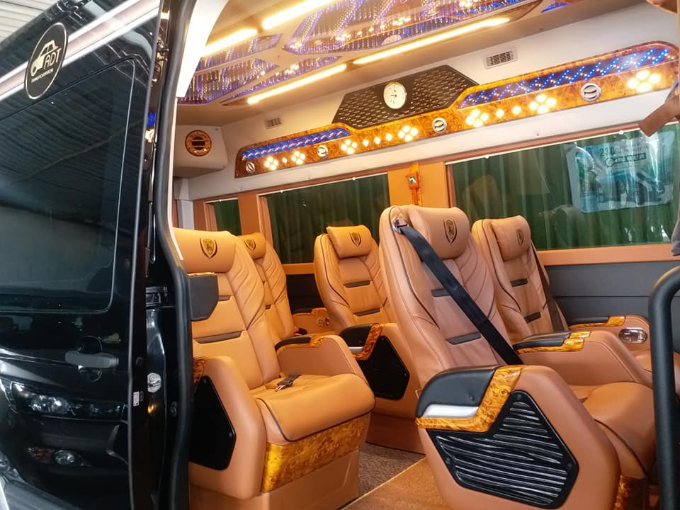 Limousine Van Rental In  Dalat Vietnam - Dalat Luxury Van Rental