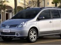 Nissan Livina 4 seats