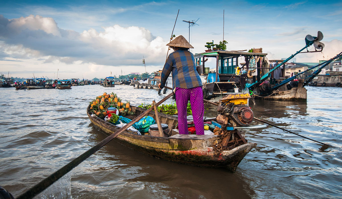 Mekong Delta Tour 2 Days From Ho Chi Minh - Cai rang Floating Market