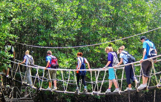 Ho Chi Minh 4Days Tour To Cu Chi Tunnel,Can Gio,Mekong Delta